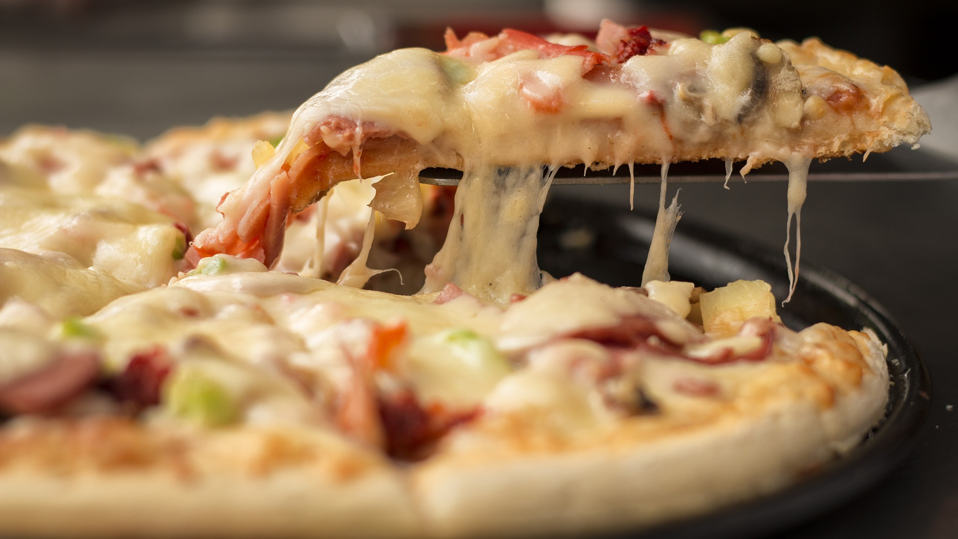 Enjoy an authentic slice of pizza at Avellino's Pizza & Grille.