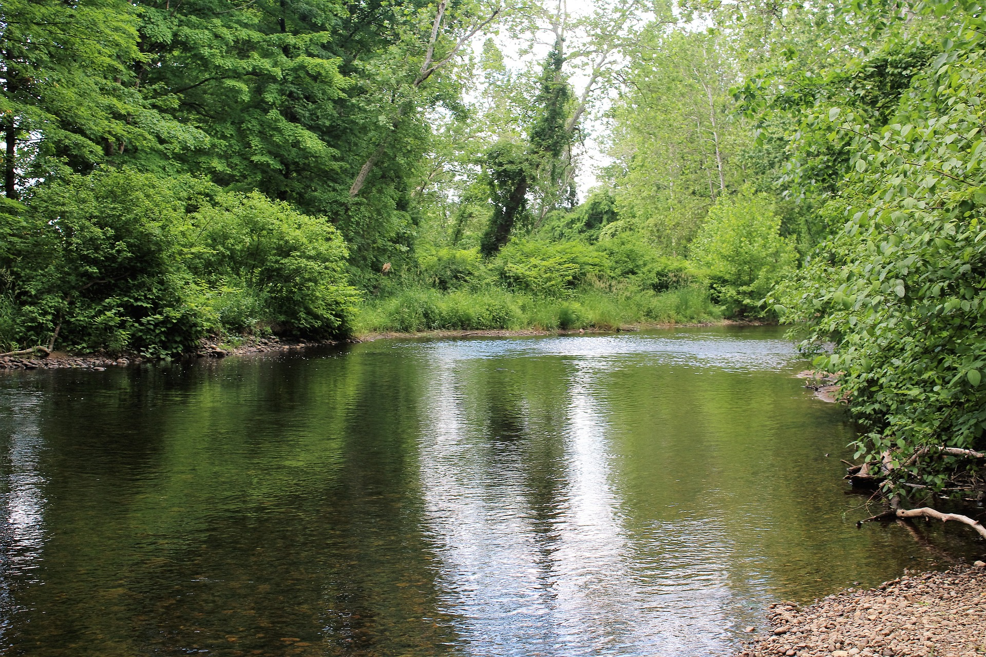 The two scenic rivers located in East Hanover are both beautiful to look at and fun to enjoy.